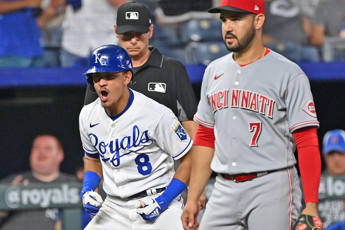 MLB: Cincinnati Reds at Kansas City Royals