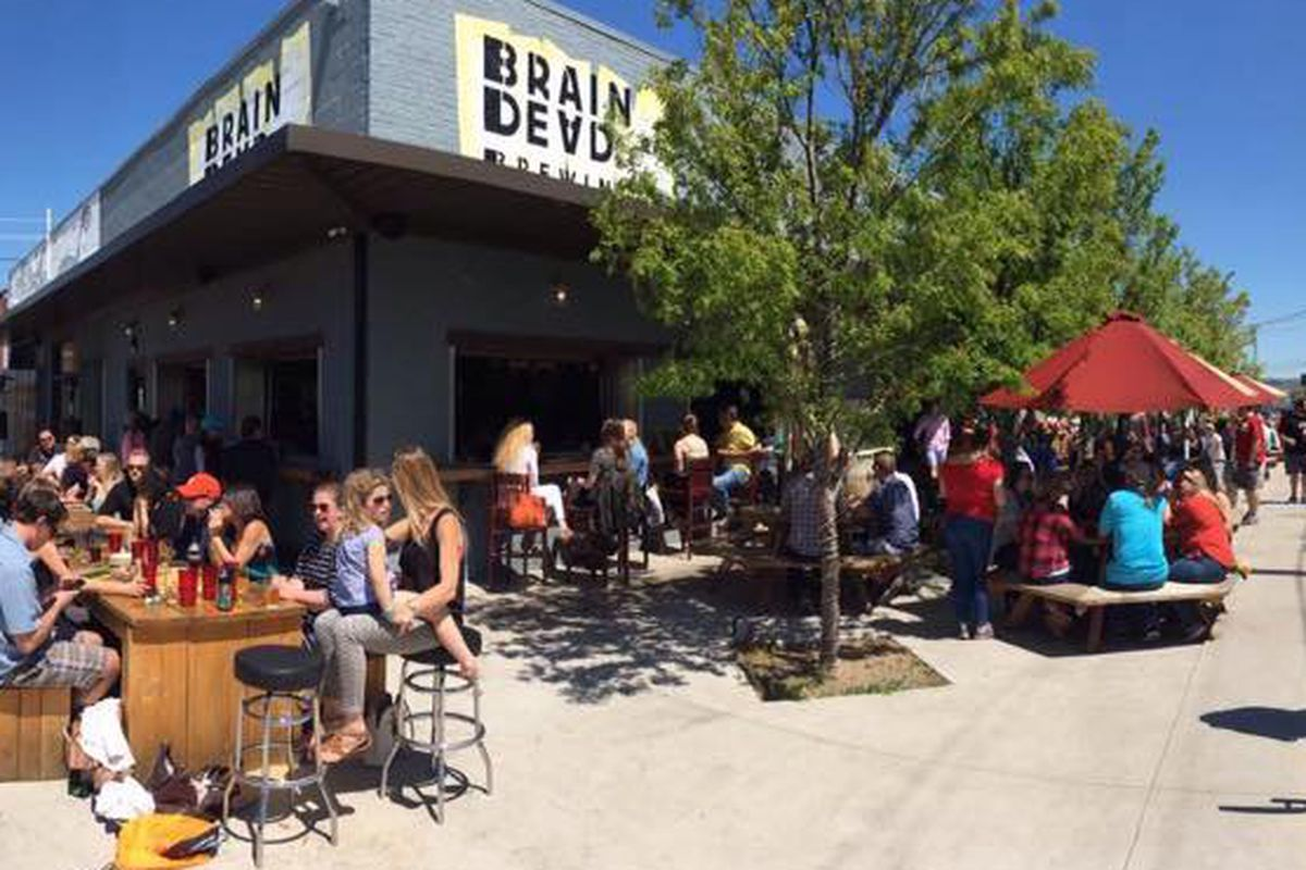 Braindead Brewing has a new great patio up its sleeve