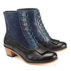 The Nesbit boot, named after Gibson Girl Evelyn Nesbit