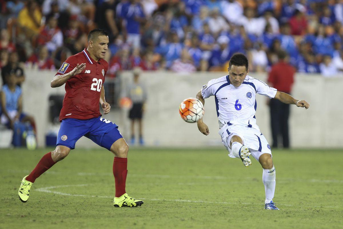 Soccer: Gold Cup-Costa Rica at El Salvador