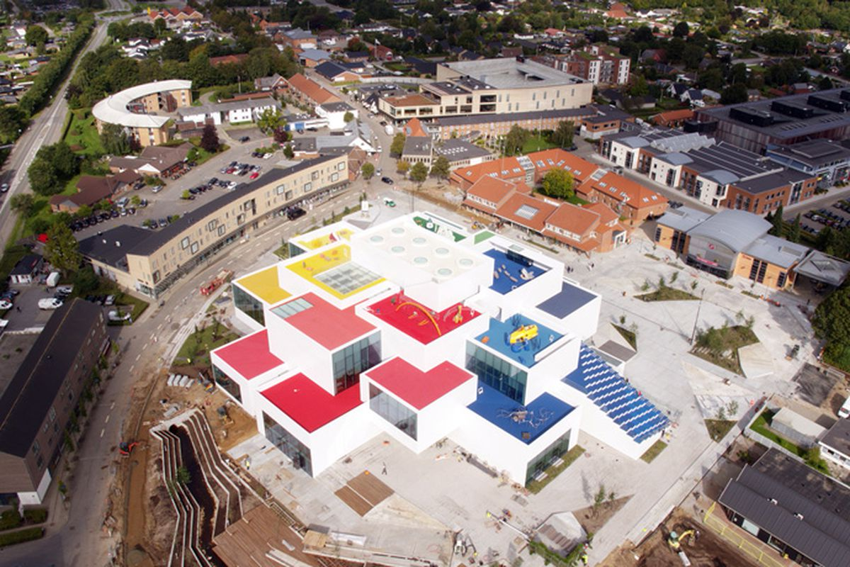 Lego House Designed By Bjarke Ingels Opens To The Public Curbed