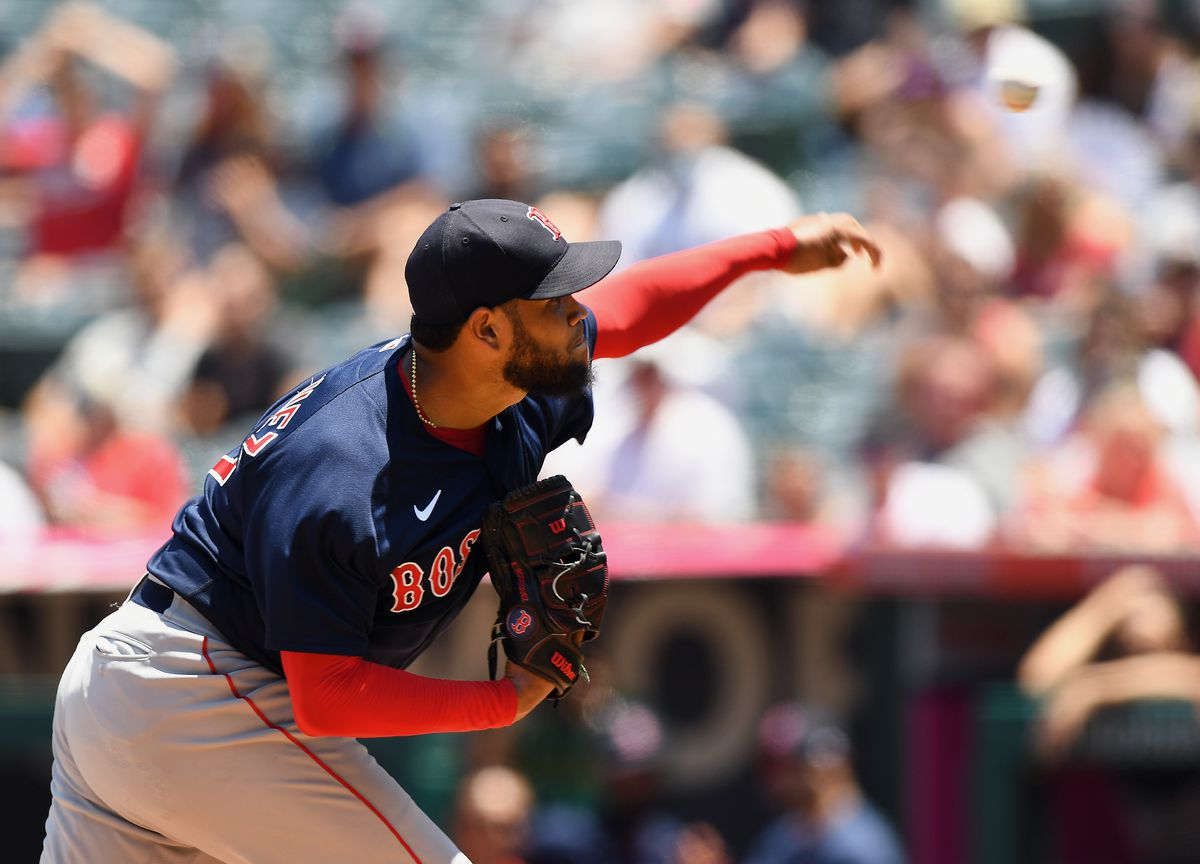 MLB: JUL 07 Red Sox at Angels