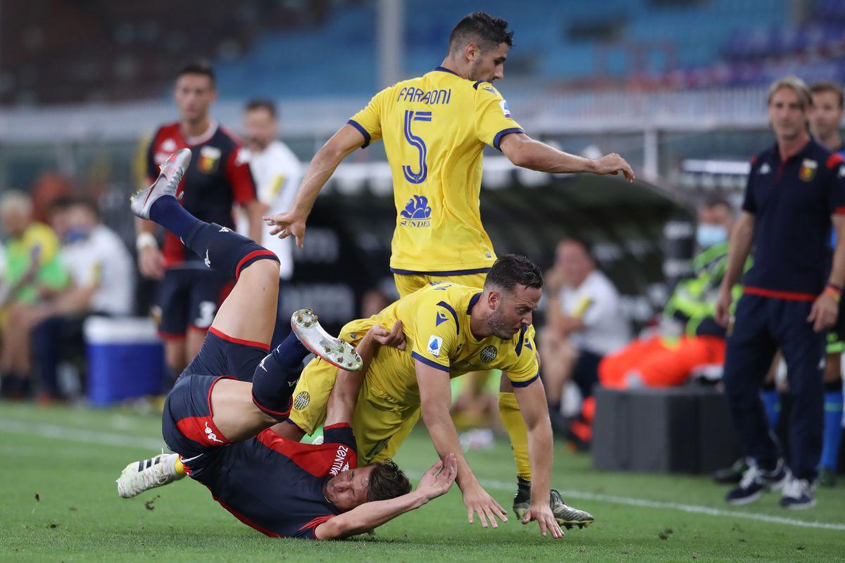 Genoa CFC v Hellas Verona - Serie A