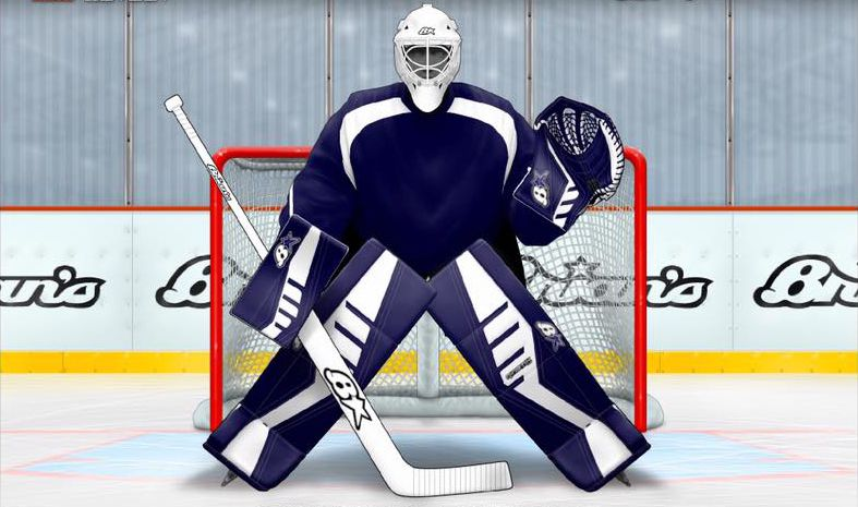 Jared Bussell Goalie Gear Options
