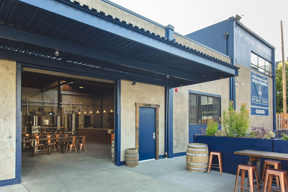 Anchor Drops New Taproom and Pilot Brewery in Potrero to Fortify ...