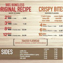 Boneless and Crispy Bites