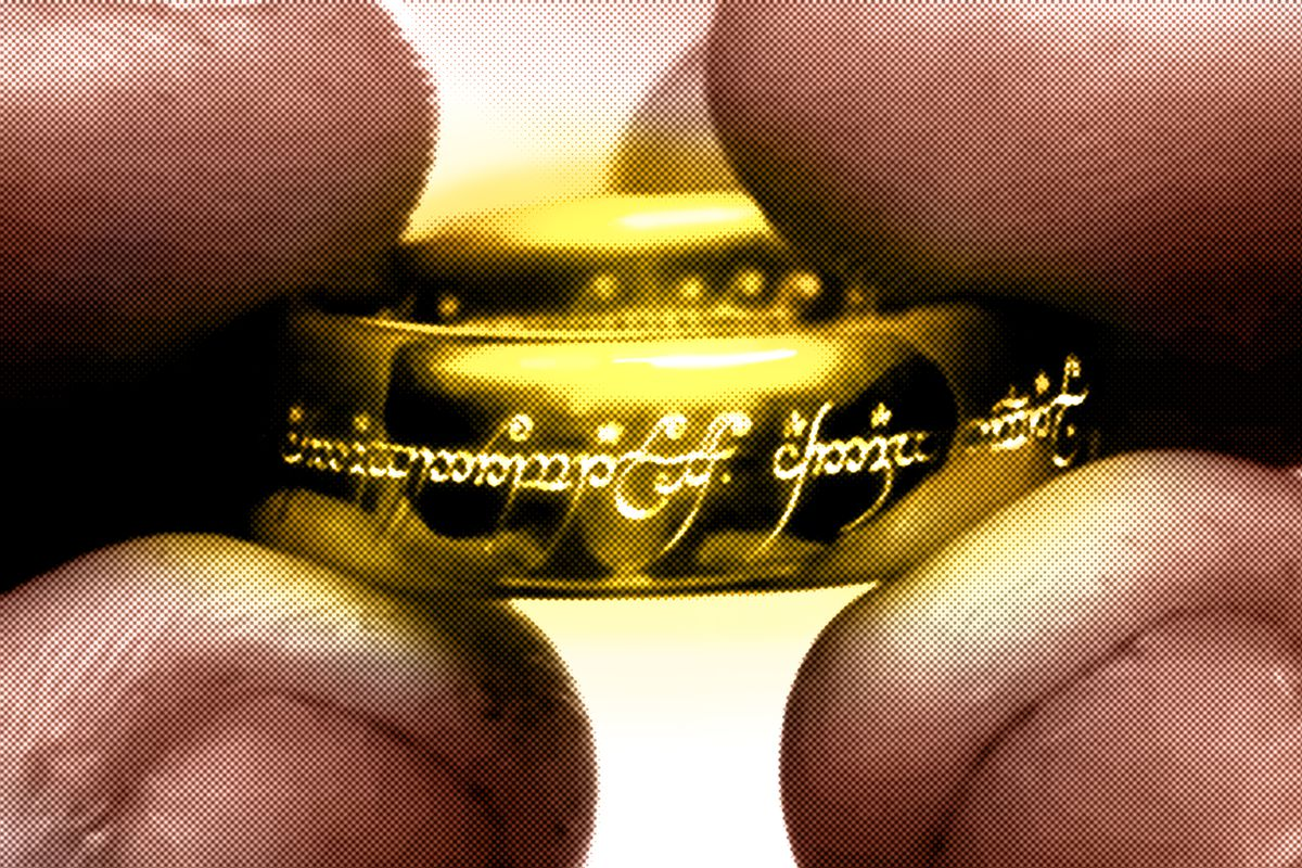 The ring in 'The Lord of the Rings'
