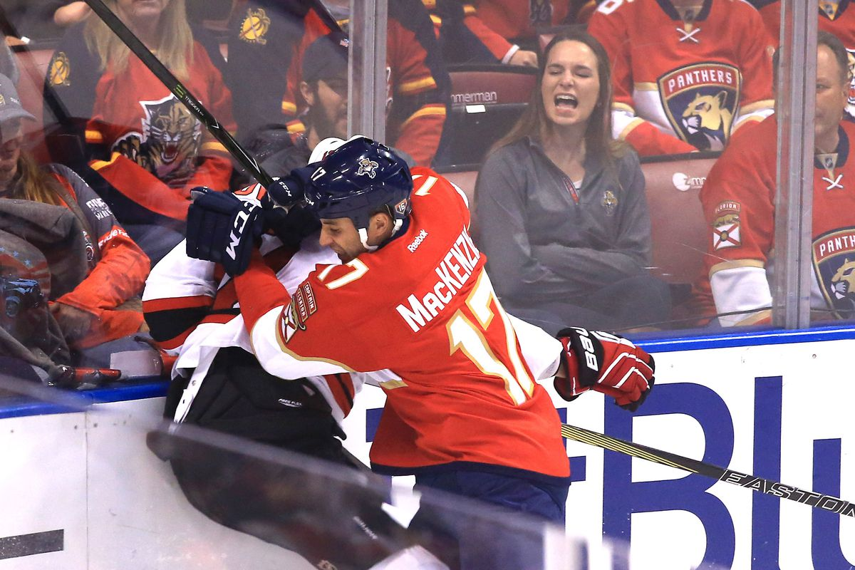d607c51d3b1 GameDay Caterwaul  Florida Panthers vs New Jersey Devils - Litter ...