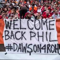 August 2019: K Phil Dawson announced that he would sign a one-day contract with the team so that he could officially retire as a member of the Cleveland Browns. He spent 20 years in the NFL, his first 14 of which were with the Browns.