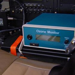 Division of Air Quality senors are stationary and at ground level. Now with a sensor on KSL-TV's Chopper 5 and on TRAX trains, researchers will be able to better gauge pollution from the air and the ground.