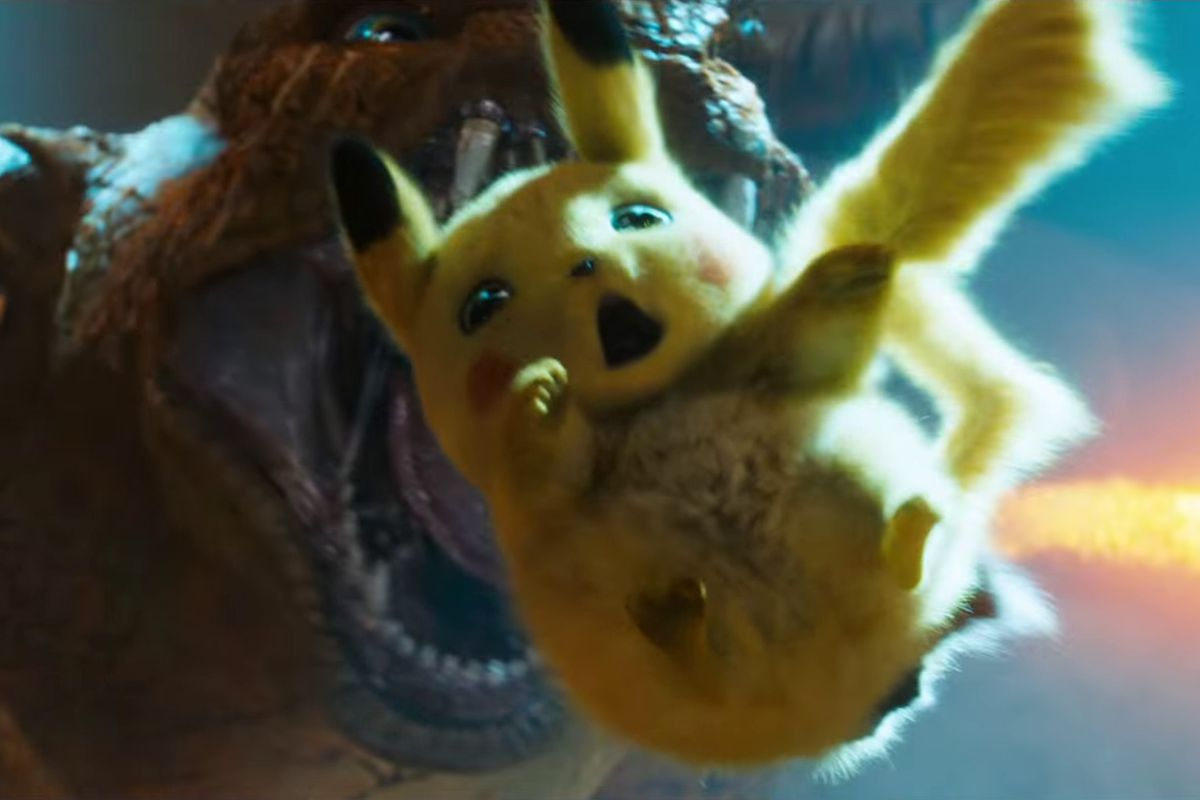"""9f6c278b9 Detective Pikachu movie trailer is here: everything to know about  live-action Pokémon. """""""
