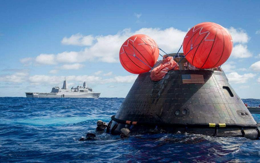 orion capsule test