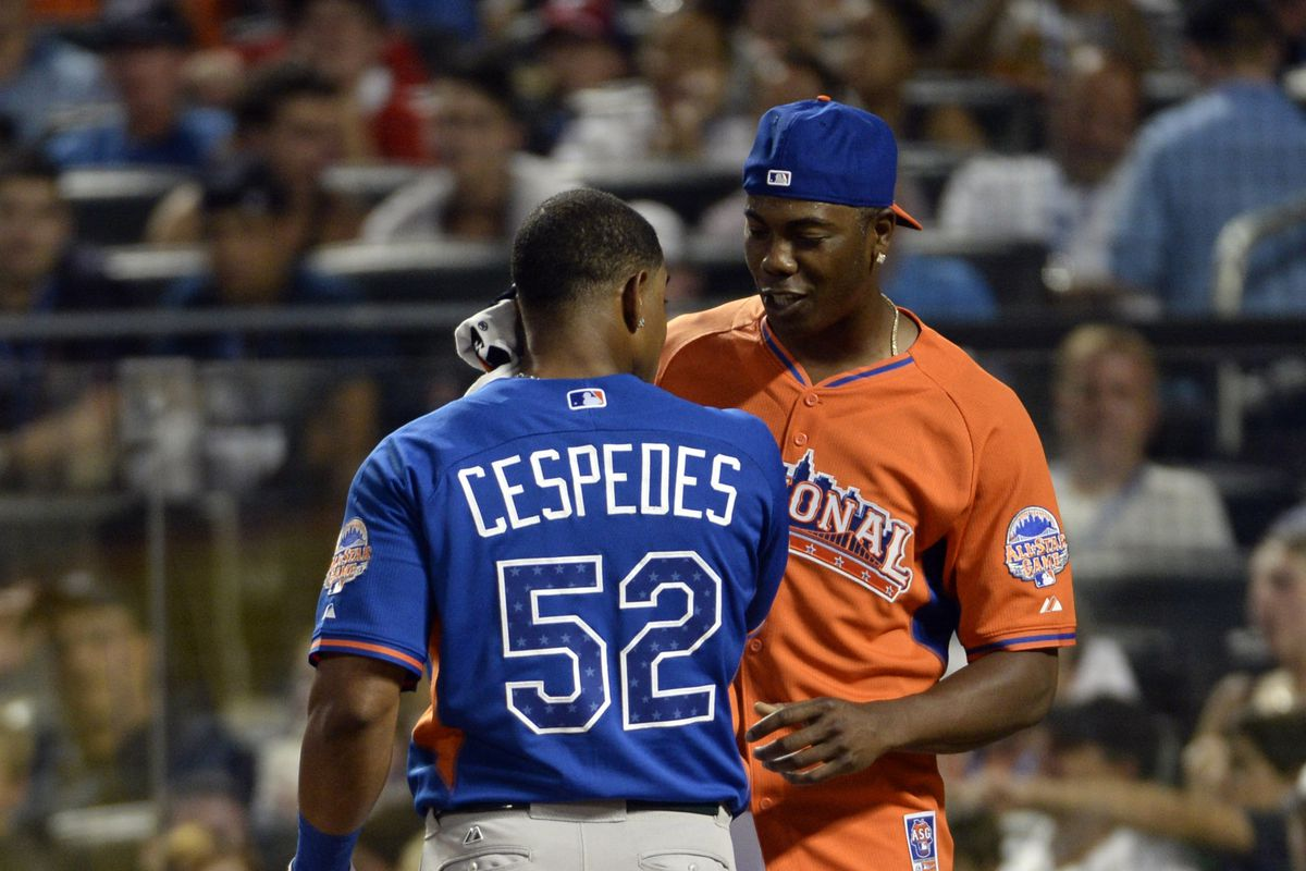With Yoenis Cespedes in left field and Aroldis Chapman in the bullpen, the all-Cuban team would be fun to watch.