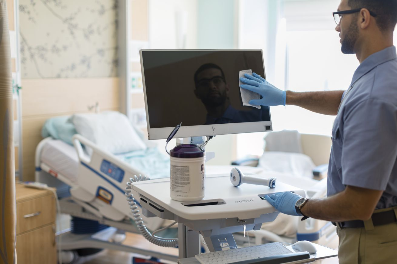 hp releases new germicide resistant computers for hospitals