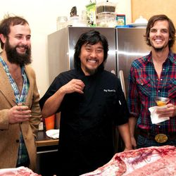 Shane and Matt with Chef Edward Lee