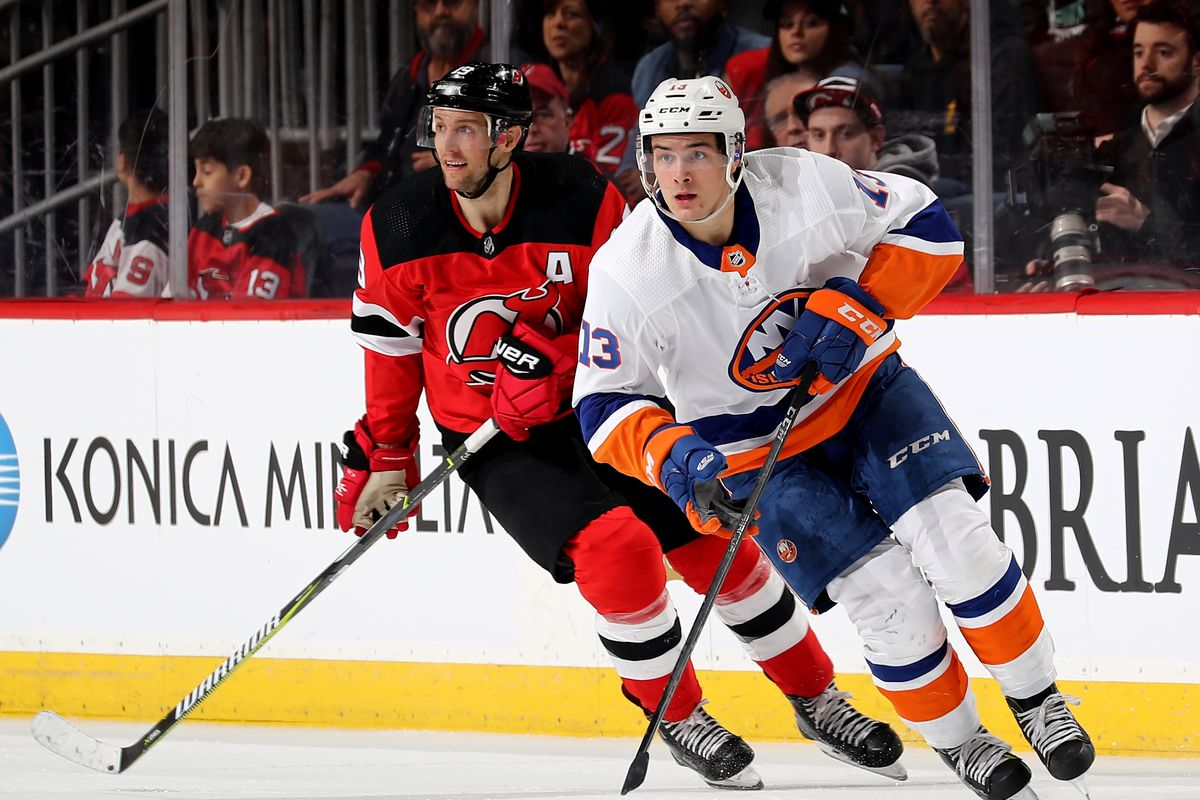 newest 1c8a7 5b891 New York Islanders at New Jersey Devils [Game 21 ...