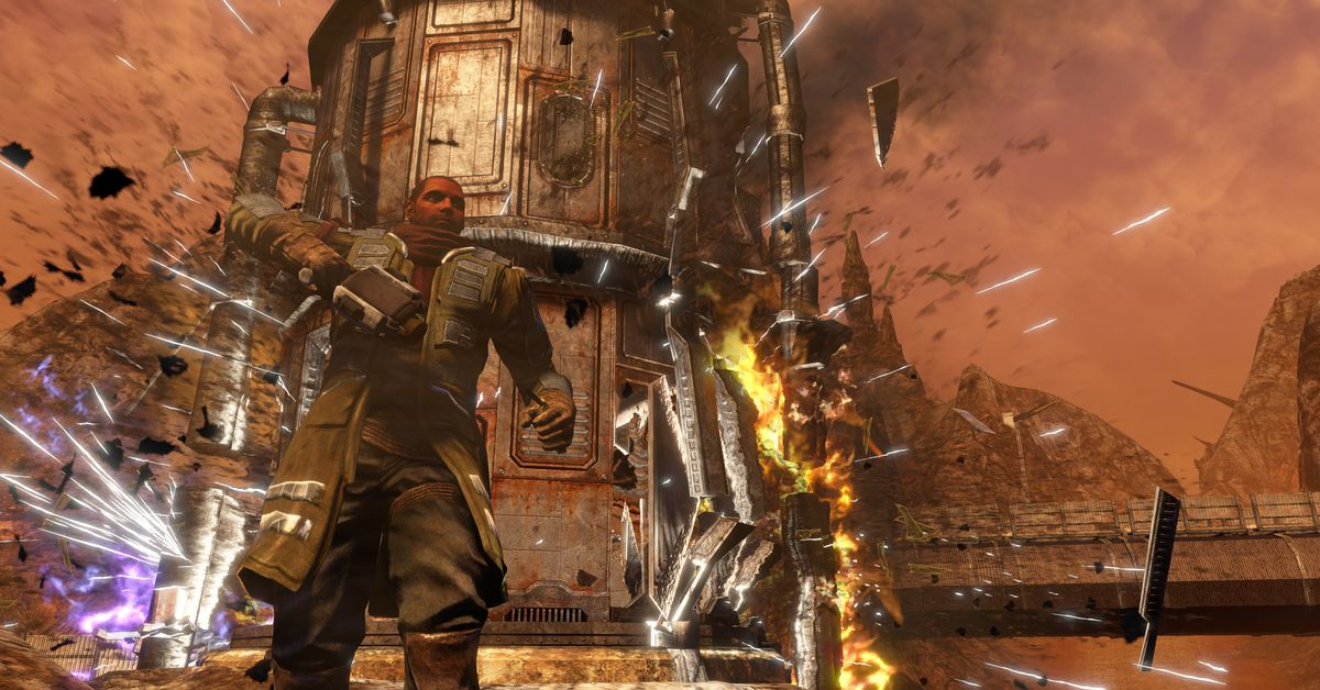 Why Red Faction: Guerrilla's remaster is a big deal - Polygon