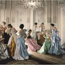 Charles James ball gowns, 1948, photographed by Cecil Beaton. This and the following images are all courtesy of the Metropolitan Museum of Art.