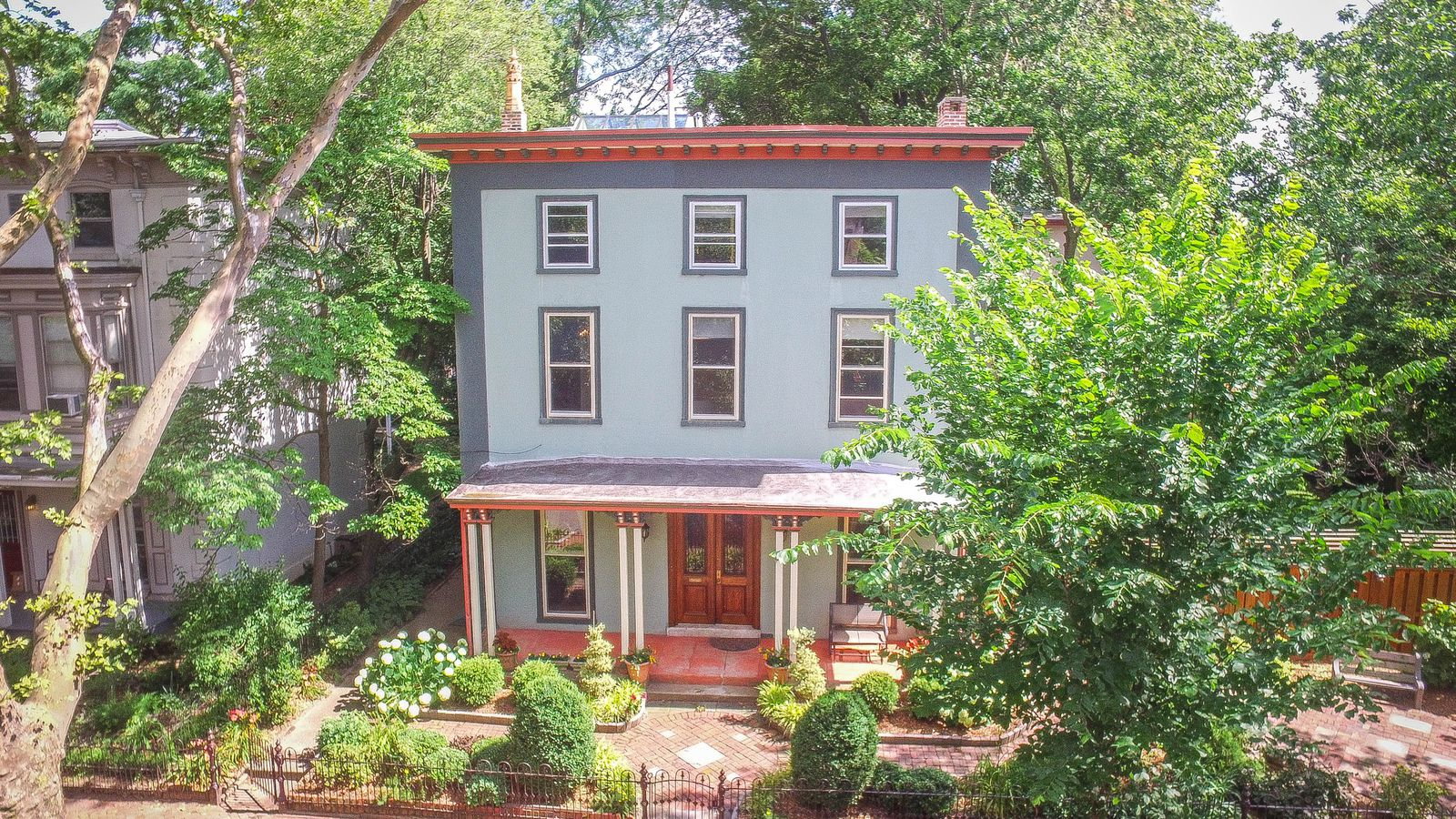 Historic italianate in powelton from 1860 asks just under for Italianate homes for sale