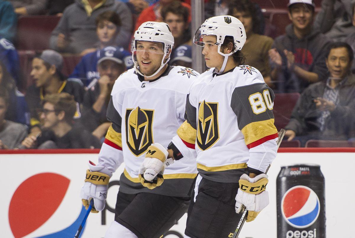 Las Vegas Golden Knights v Vancouver Canucks