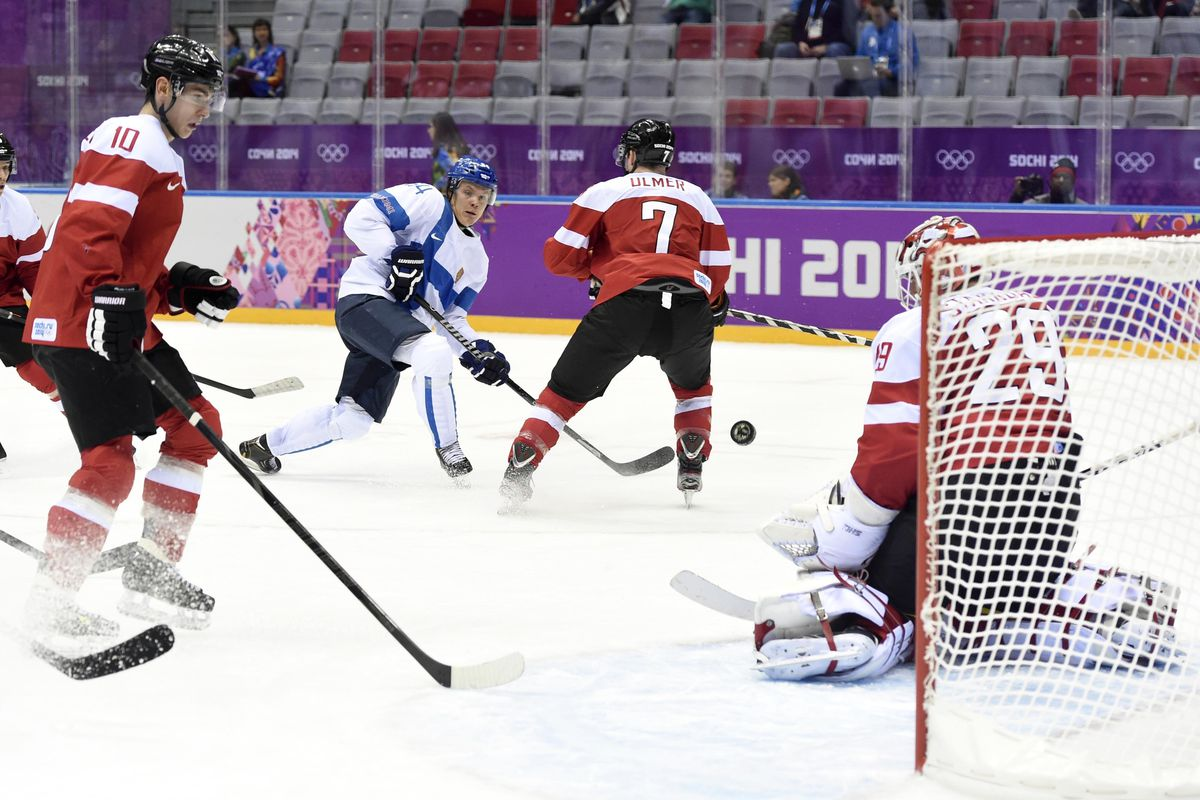 Big ice yielded big results for Mikael Granlund, who had 2 goals and an assist in his Olympic debut.