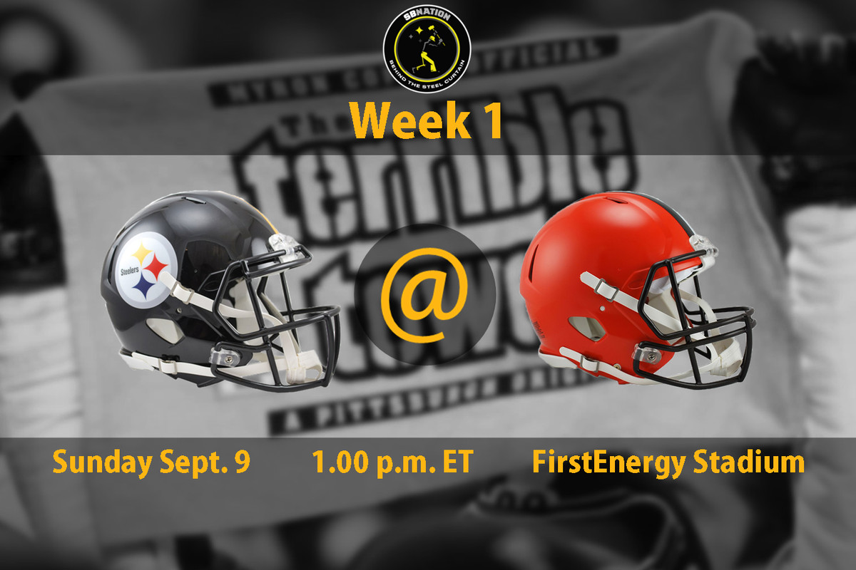 Steelers Vs Browns Week 1 Time Tv Schedule And How To Watch
