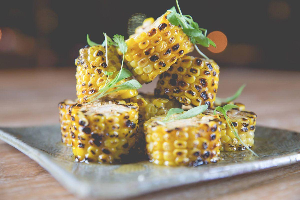 Robata corn at DÔA Miami