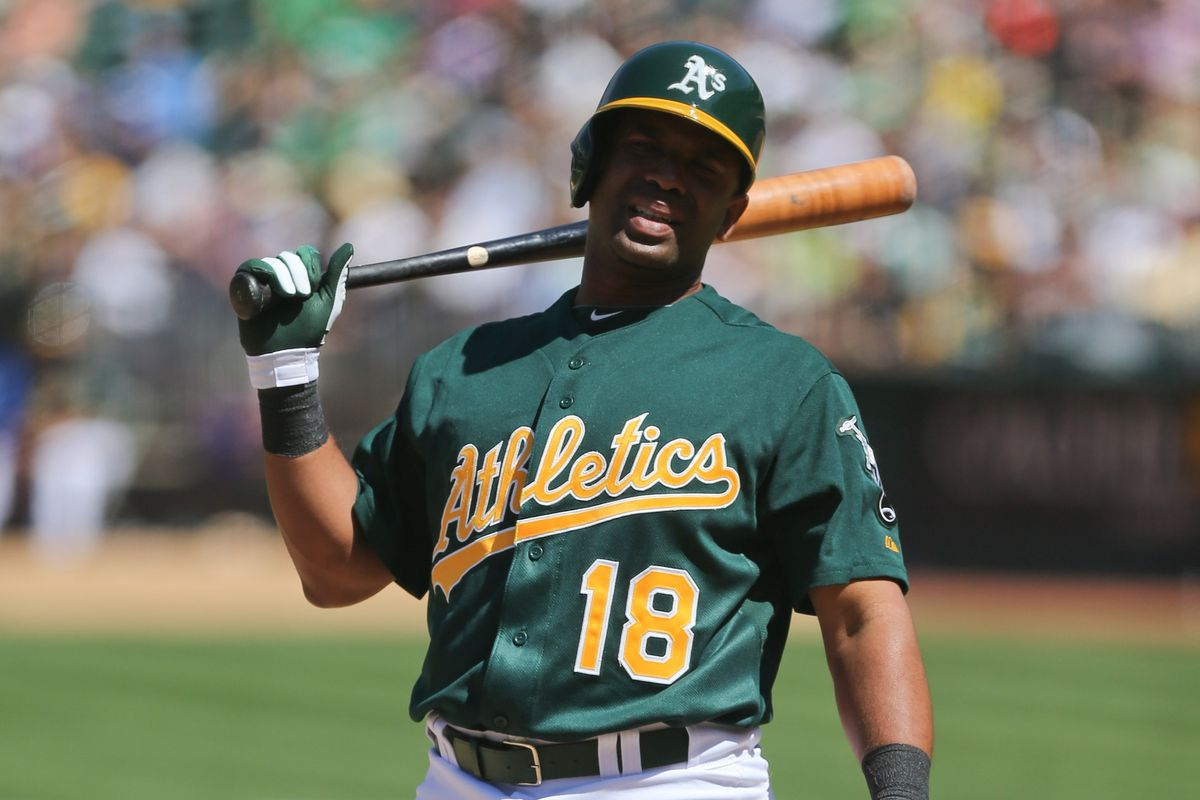 3: The number of available photos in our database of Callaspo in an A's uniform. I've now used two of them.