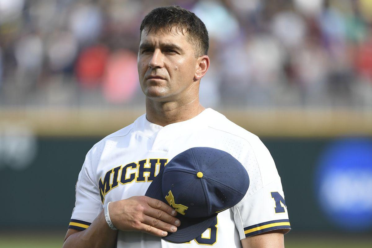 College World Series - Vanderbilt v Michigan - Game Two