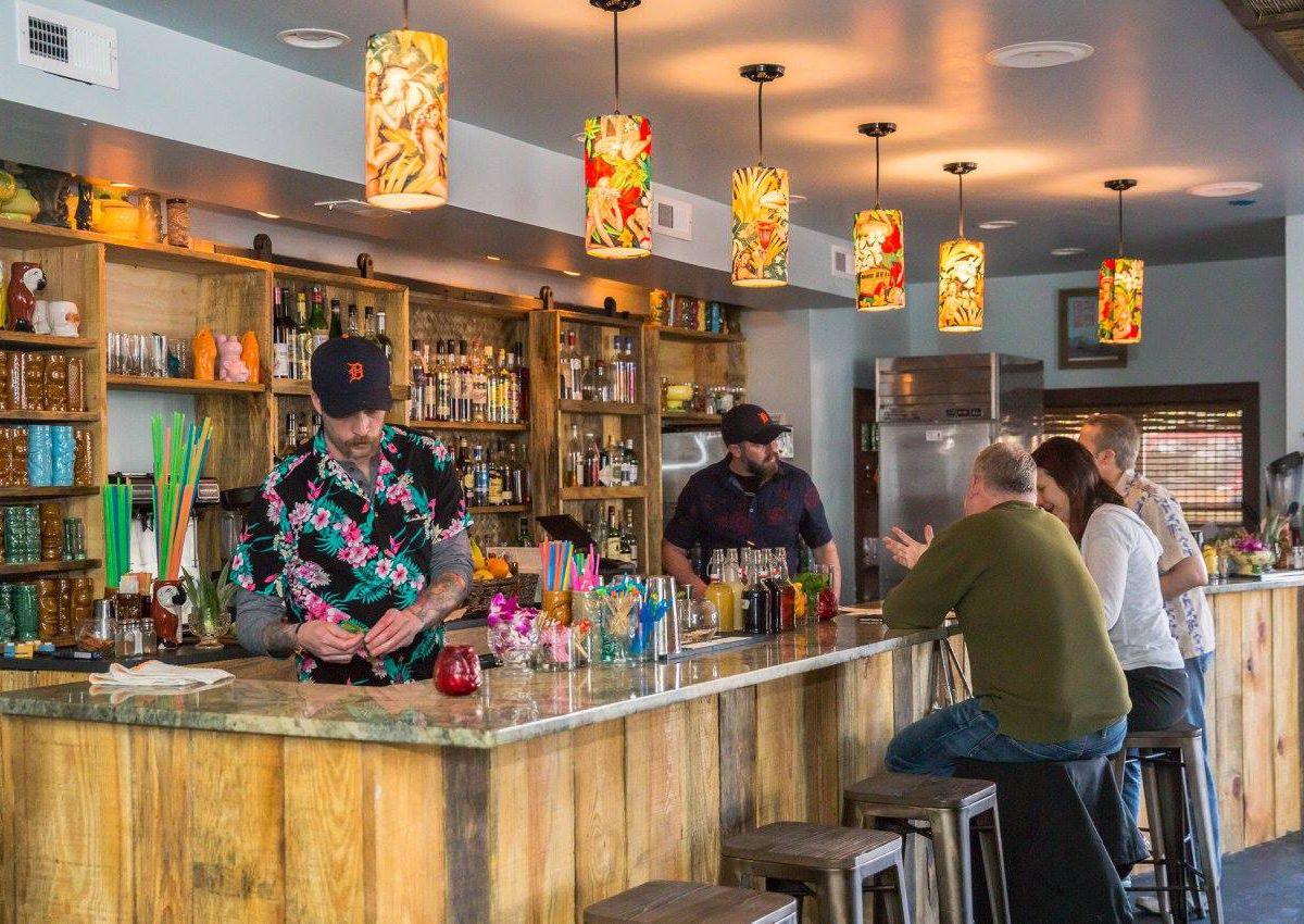 The bar at Archipelago