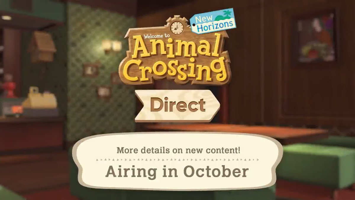 """a blurred background with text that says """"More details on new contect! Airing in October"""""""