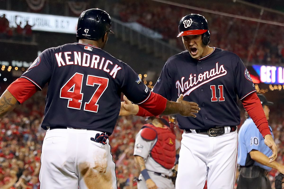 2019 NLCS Game 4 - St. Louis Cardinals v. Washington Nationals