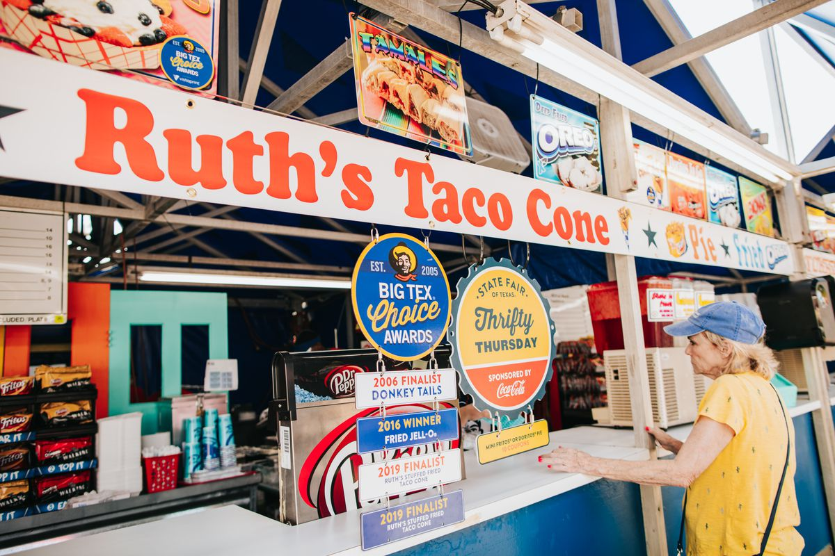 The front of the Ruth's Tamale House stand.