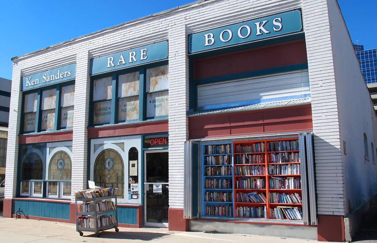 Ken Sanders Rare Books has anchored the location at 268 S. 200 East for the past 17 years.