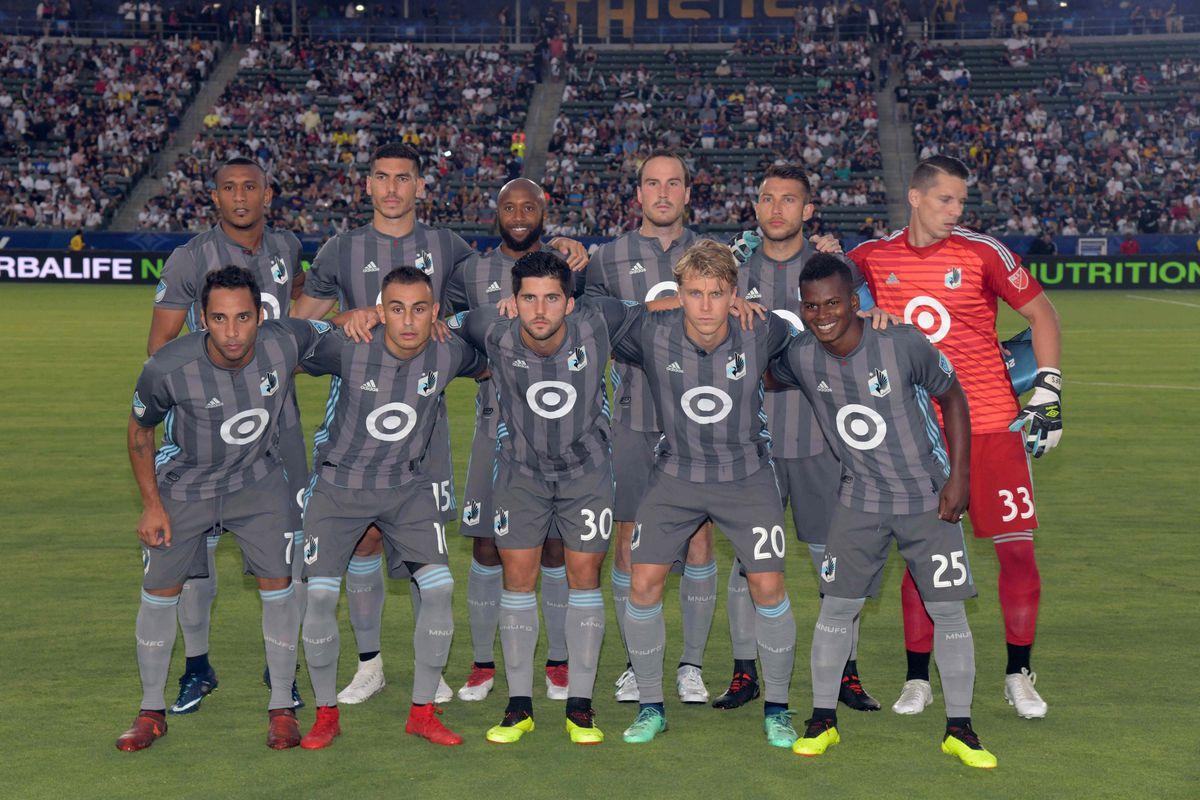 MLS: Minnesota United FC at Los Angeles Galaxy