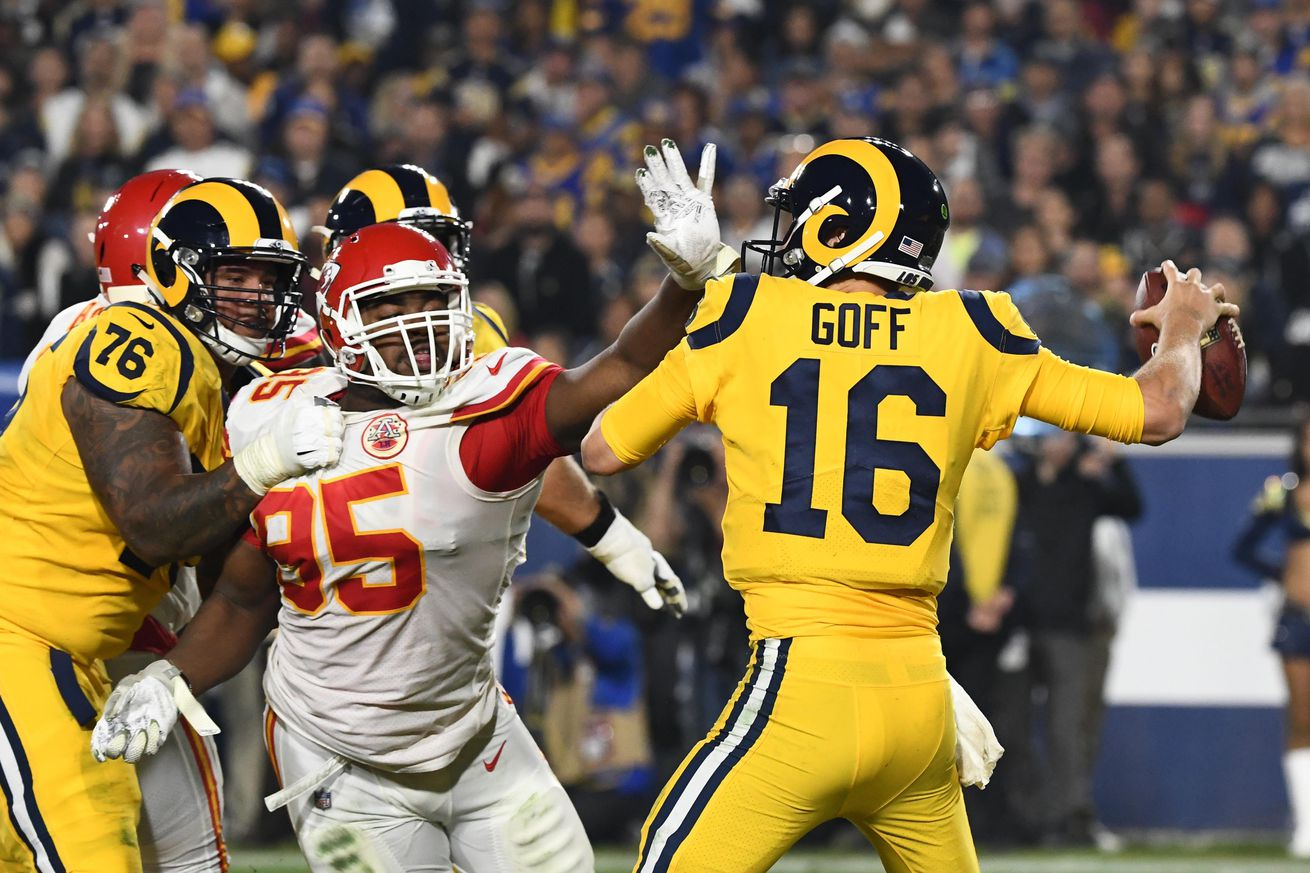 cheap for discount 6dca4 64553 Chris Jones was the Chiefs' best player against the Rams ...