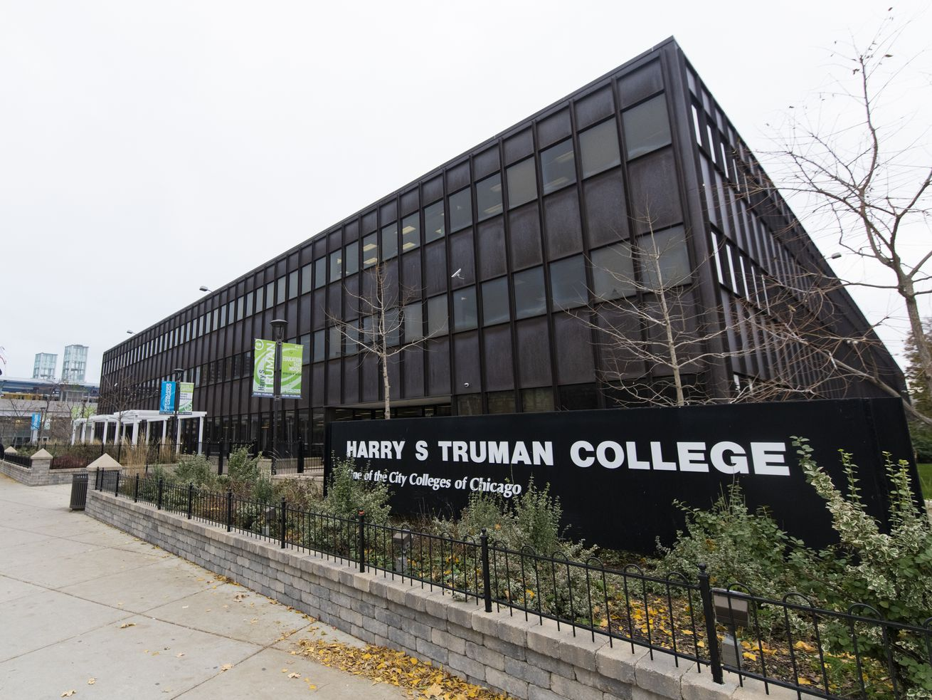 Harry S Truman College, one of the City Colleges of Chicago in Uptown.