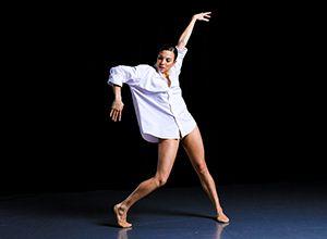 "The Joffrey Ballet's ""Bolero"" (pictured is Joffrey dancer Anais Bueno) Photo by Matt de la Peña"