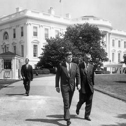1961; Abbie Rowe. White House Photographs. John F. Kennedy Presidential Library and Museum, Boston