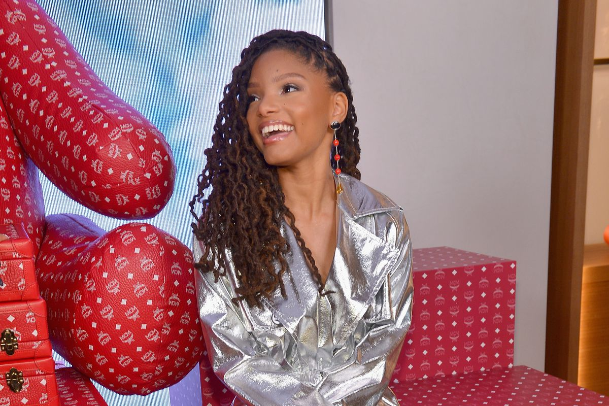 fc8036294591 Disney's live-action Little Mermaid will star Halle Bailey as Ariel ...