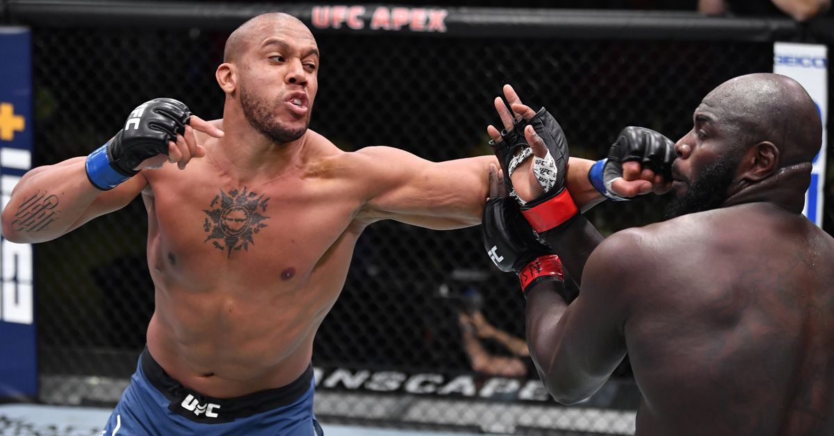 Ciryl Gane remains undefeated with dominant decision over Jairzinho Rozenstruik in UFC Vegas 20 main event