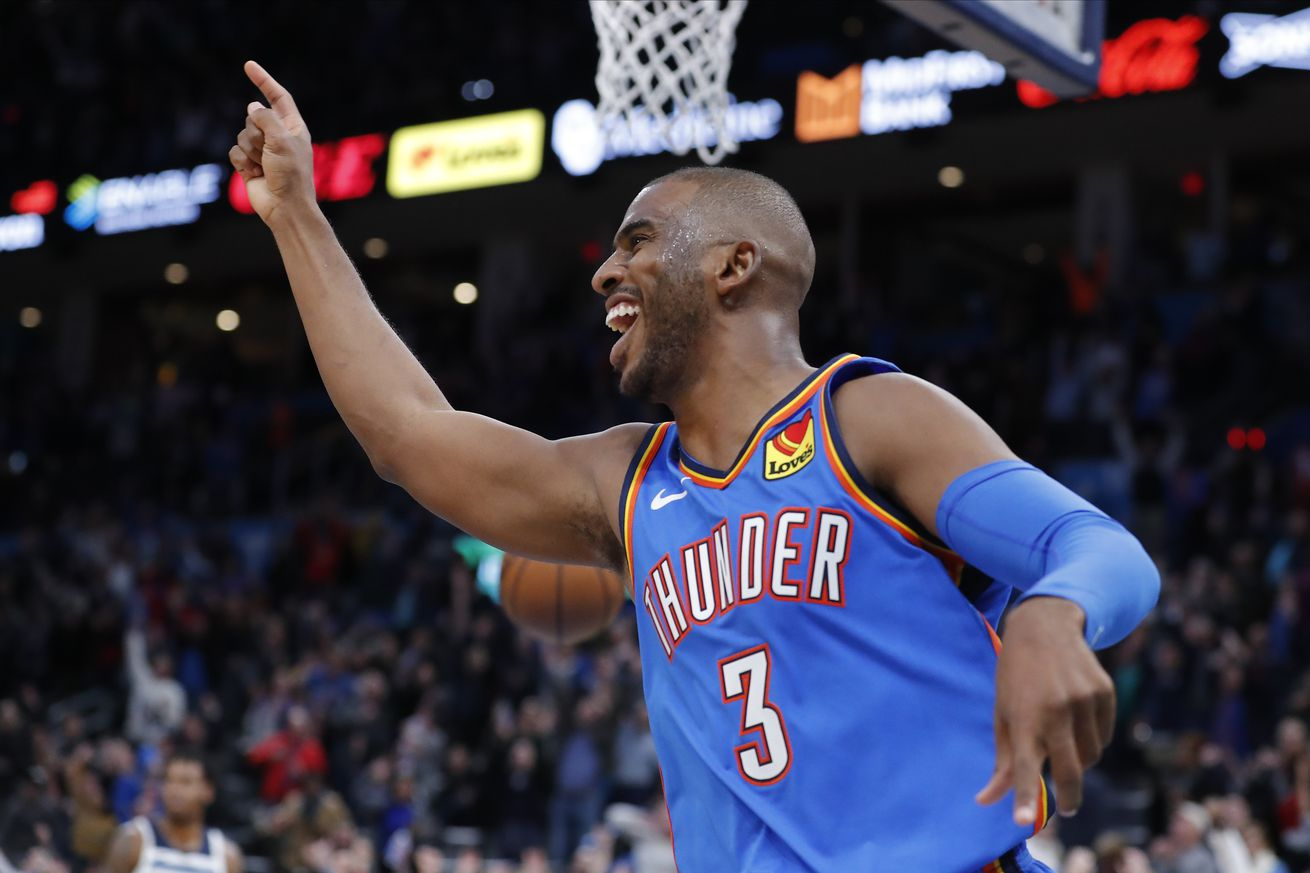 How Chris Paul snitching about an untucked jersey gave the Thunder an impossible win