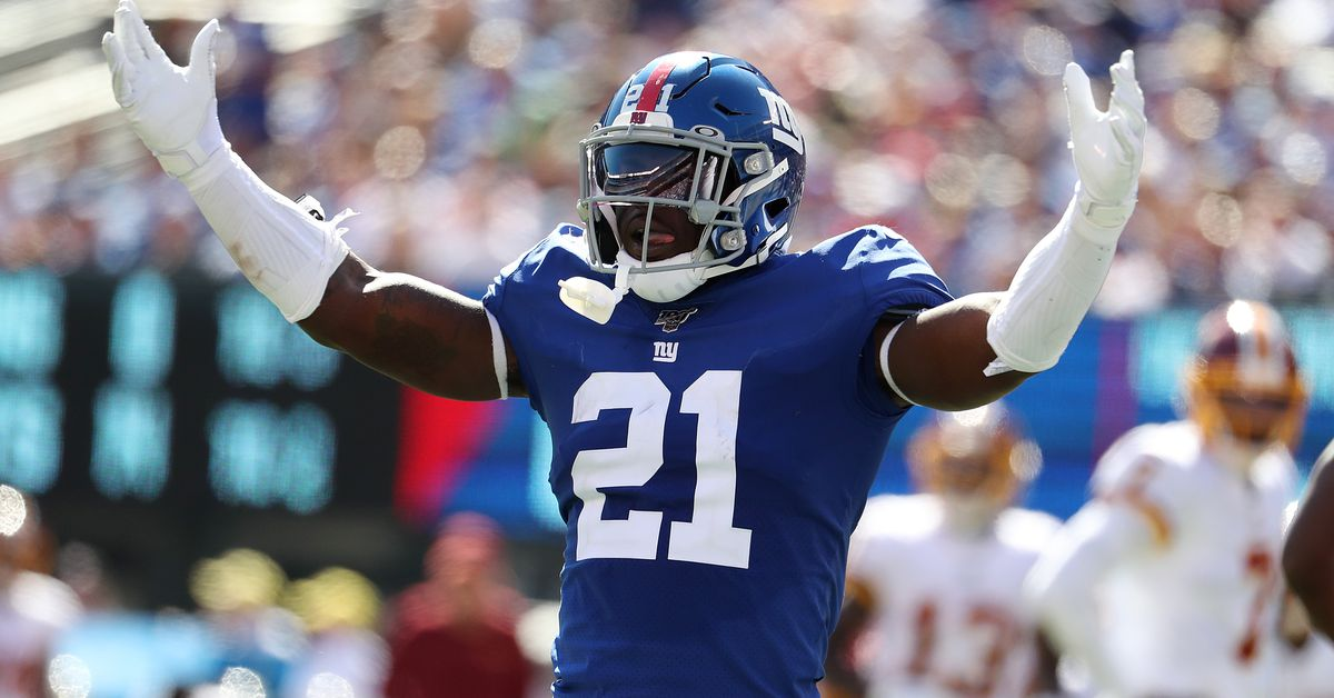Giants injury report, 12/7: Eli Manning to start, Jabrill Peppers to IR