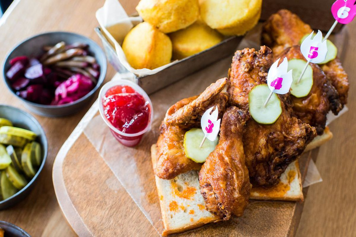 Chicken from Carla Hall's Southern Kitchen