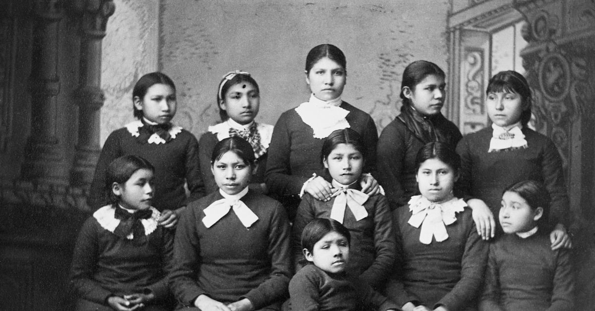 Deb Haaland's reckoning with the theft of Native American children in boarding schools
