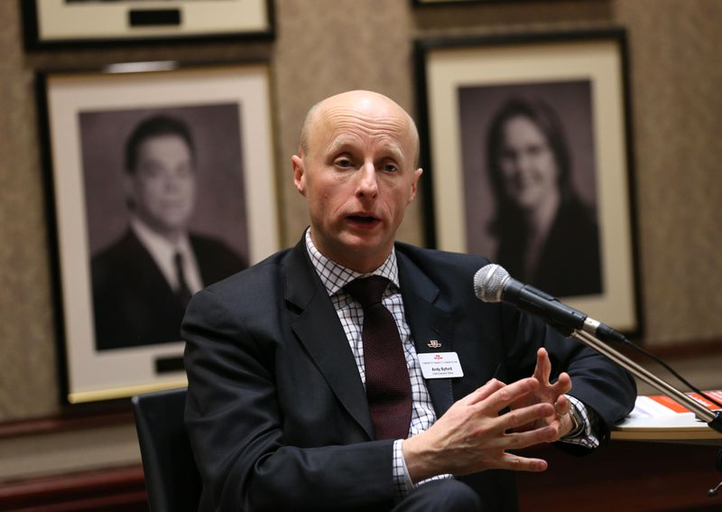 Andy Byford at the University of Toronto.