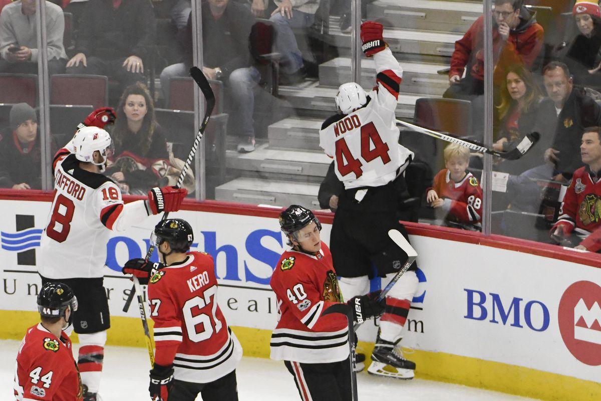 26286781d Devils Strike For Seven Goals Against the Chicago Blackhawks in Win ...
