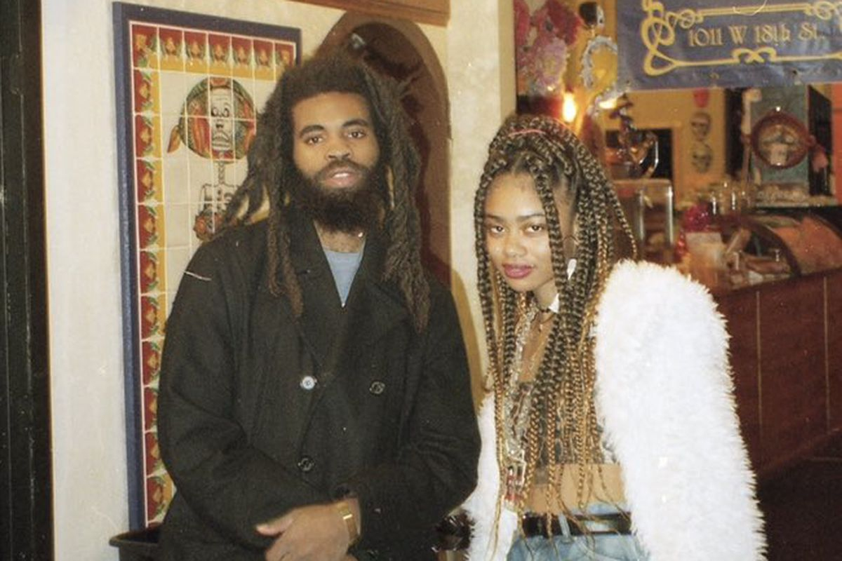 Chicago creative Kierra Wooden (right) says Pivot Gang member Squeak (left) randomly direct messaged her in 2018 offering to DJ her event free of charge.