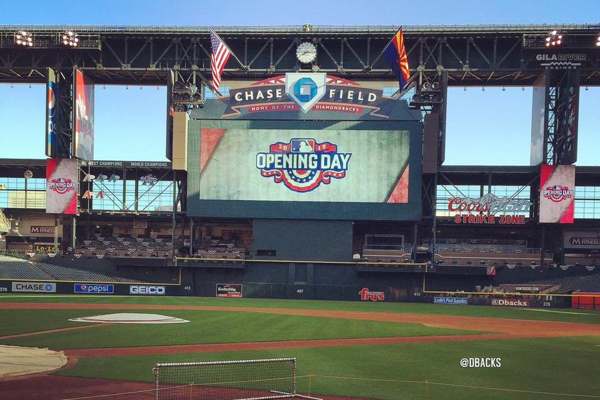 Arizona Diamondbacks Opening Day 2015