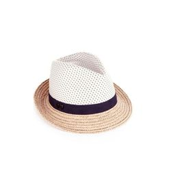 """<a href="""" http://us.accessorize.com/view/product/us_catalog/acc_5,acc_5.8/1911071100""""> Polka dot crown trilby</a>, $35 accessorize.com"""